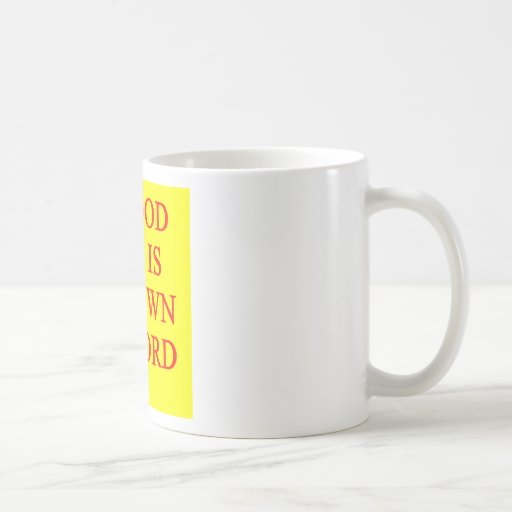 pun on puns classic white coffee mug