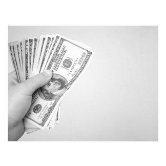 """Puñado de dinero folleto 8.5"""" x 11"""""""