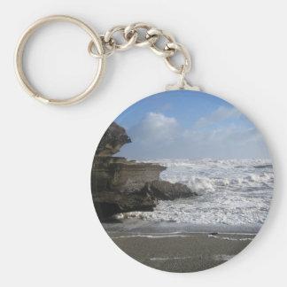 Punakaiki Beach Keychain
