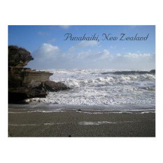 Punakaiki New Zealand postcard