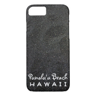 Punalu'u Beach Hawaii - Black Sand Beach Photo iPhone 7 Case