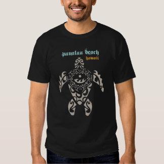 Punaluu Beach Hawaii Sea Turtle Shirt