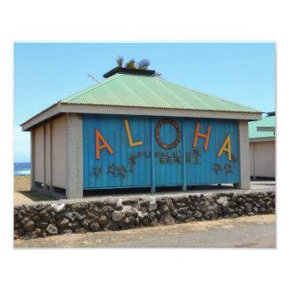 Punalu'u Black Sand Beach Aloha Building Photo