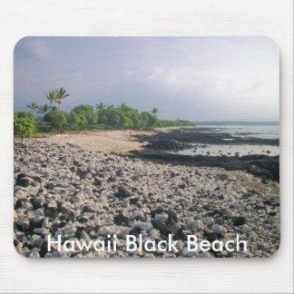 Punalu'u Black Sand Beach Mouse Pad