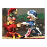 Punch and Judy 13 Cm X 18 Cm Invitation Card