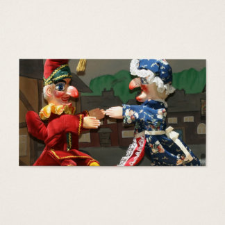 Punch and Judy Business Card