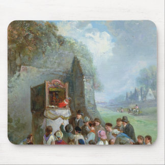 Punch and Judy Mouse Pad