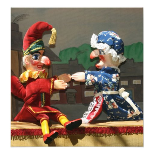 Punch and Judy Photo Print