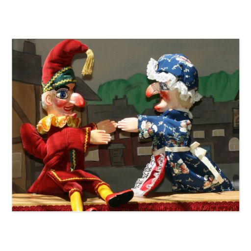 Punch and Judy Post Cards