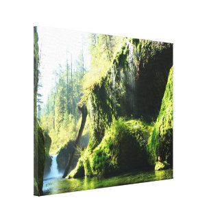 Punch Bowl Falls Eagle Creek Oregon Canvas Print