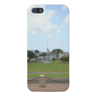 Punch bowl national cemetary cover for iPhone SE/5/5s