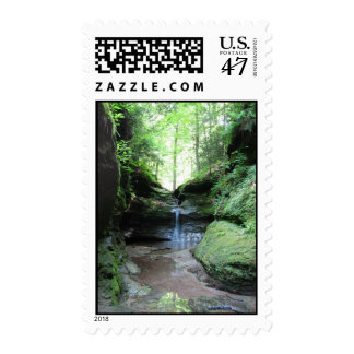 Punch Bowl Postage Stamp
