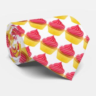 Punch Chocolate cupcake Neck Tie