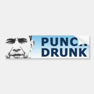 Punch Drunk Bumper Sticker