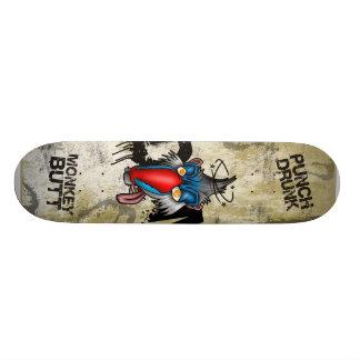 Punch Drunk Monkey Butt Skateboard Deck