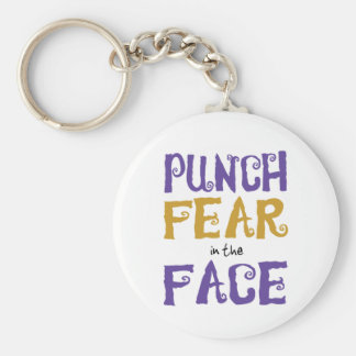 Punch Fear in the Face Key Chains
