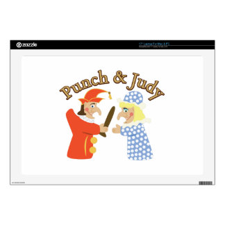 "Punch & Judy 17"" Laptop Decal"