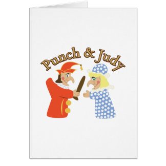 Punch & Judy Card