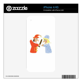 Punch & Judy Decals For The iPhone 4