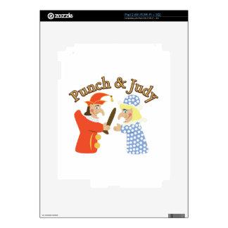 Punch & Judy iPad 2 Skins
