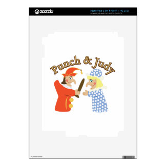 Punch & Judy iPad 3 Decals