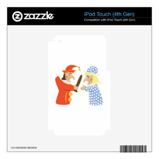 Punch & Judy iPod Touch 4G Decals