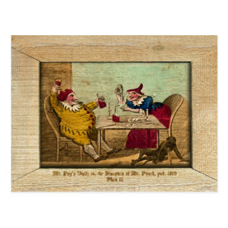 Punch & Judy Picture Plate III Postcard