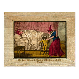 Punch & Judy Picture Plate IV Postcard