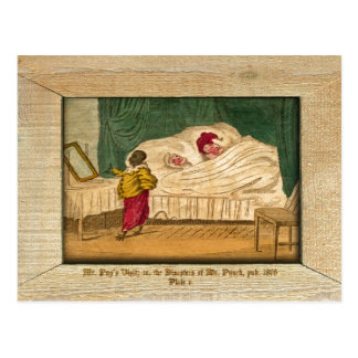 Punch & Judy Picture Plate V Postcard