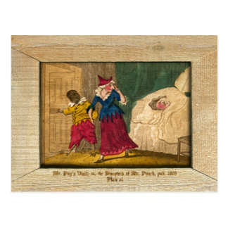 Punch & Judy Picture Plate VI Postcard