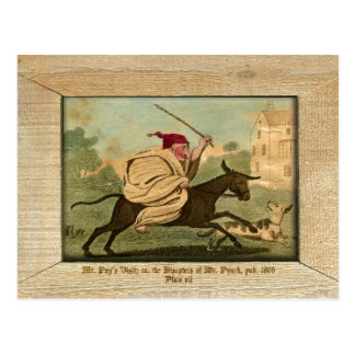 Punch & Judy Picture Plate VII Postcard