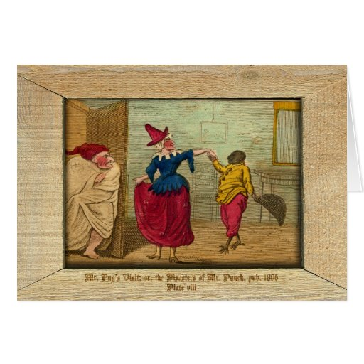 Punch & Judy Picture Plate VIII Cards