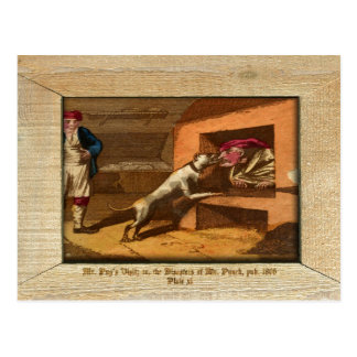 Punch & Judy Picture Plate XI Postcard