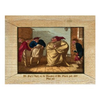 Punch & Judy Picture Plate XIII Postcard