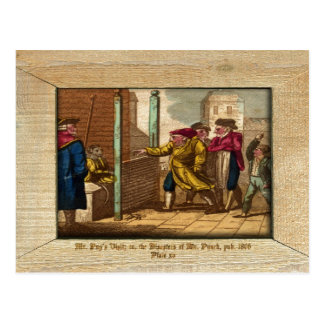 Punch & Judy Picture Plate XV Postcard