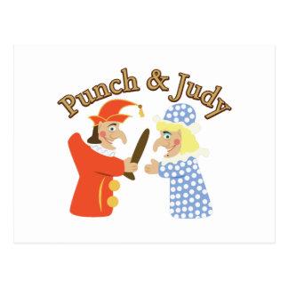 Punch & Judy Postcard