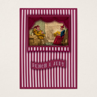 Punch & Judy Scene I Gift Tag