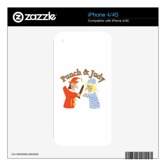 Punch & Judy Skin For The iPhone 4S