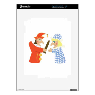 Punch & Judy Skins For The iPad 2