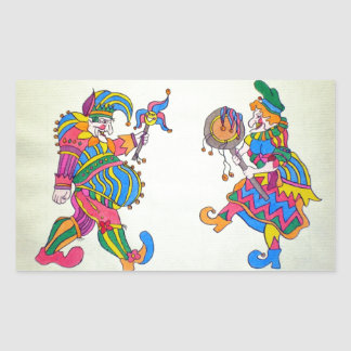 PUNCH & JUDY STICKERS