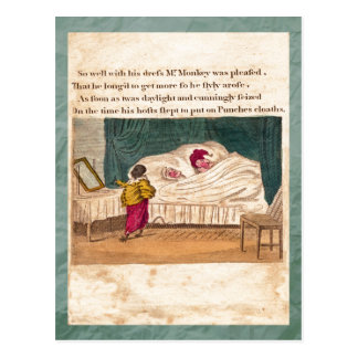 Punch & Judy Story Plate V Postcard