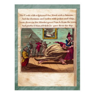 Punch & Judy Story Plate X Postcard