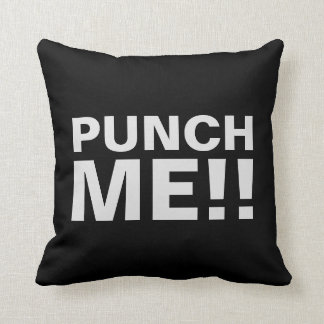 Punch Me | Funny Throw Pillow