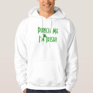 Punch Me I'm Irish Hoodie