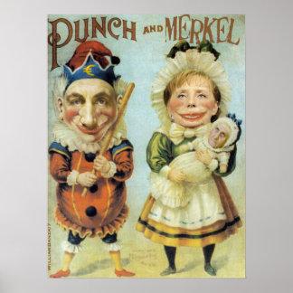 Punch & Merkel Poster
