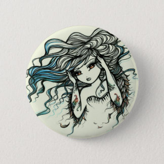 Punch of Color Musical Angel Girl Fairy Fantasy Button