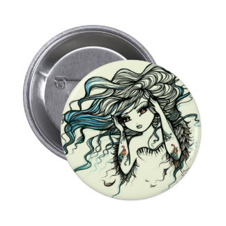 Punch of Color Musical Angel Girl Fairy Fantasy Pinback Buttons