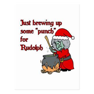 punch postcard
