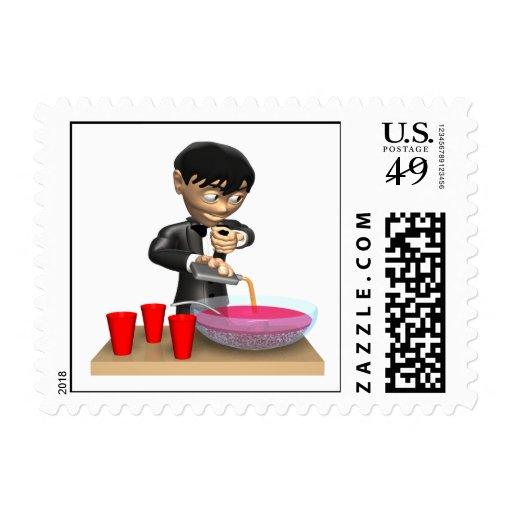Punch Spiker Stamp