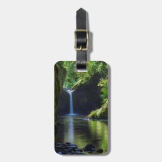 Punchbowl Falls Along Eagle Creek Trail 2 Bag Tag
